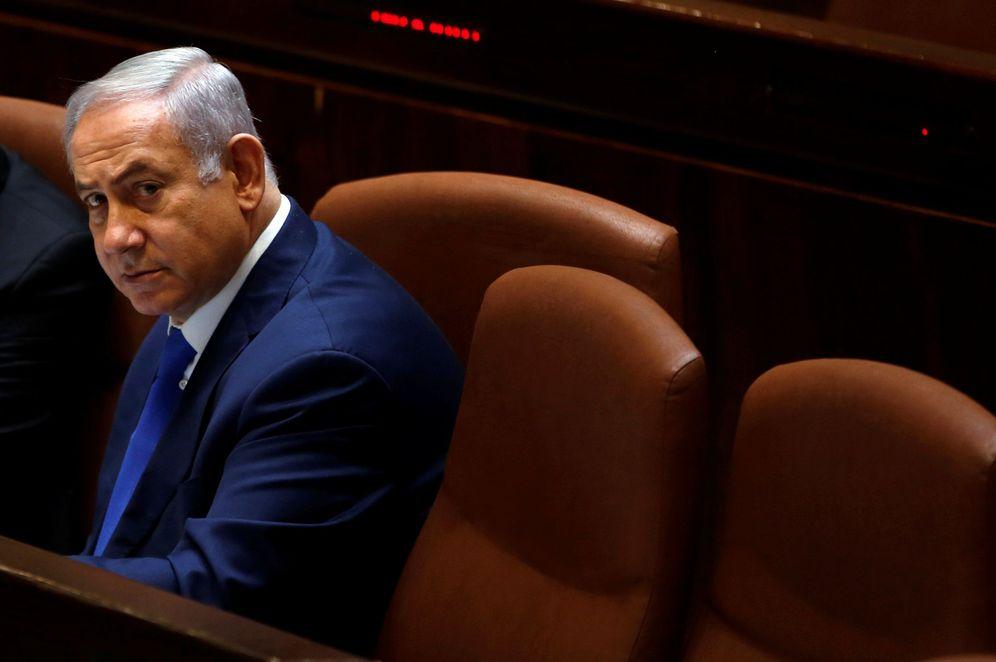 Foto: El primer ministro israeli Benjamin Netanyahu atiende una sesión del Knesset, el Parlamento israelí, en Jerusalén, el 12 de marzo de 2018. (Reuters)