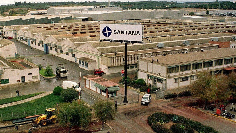 Factoría de Santana Motor en Linares (Jaén). (Efe)