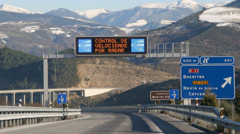 Los radares de la DGT multarán desde 131 km/h en autovía