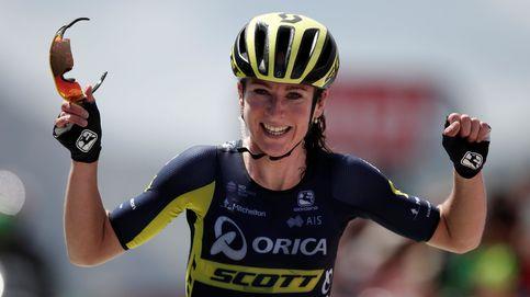 Van Vleuten, la ciclista que bate récords masculinos en la subida a L'Izoard