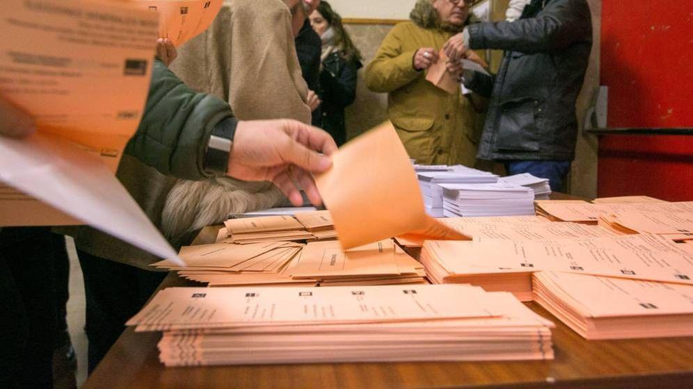 Foto: Votaciones elecciones generales
