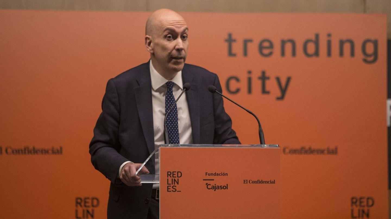 Nacho Cardero, director de El Confidencial. (F. R.)