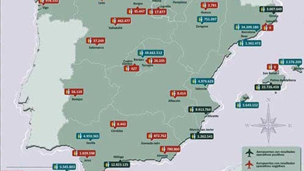 Fomento deja sin inversión al aeropuerto de Huesca y no descarta cerrar otros