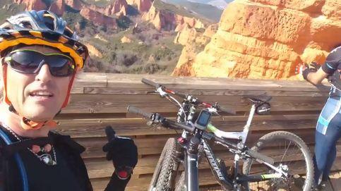 Jesús Calleja, evacuado en helicóptero tras sufrir un accidente en bicicleta