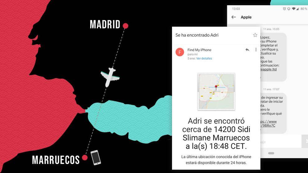 Me robaron el iPhone en Madrid y me fui a Marruecos a recuperarlo