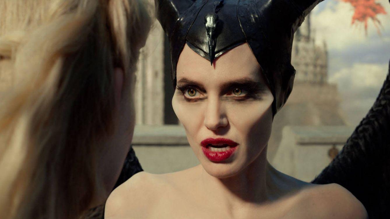 Foto: Angelina Jolie en su papel de Maléfica para el cine. (Disney)