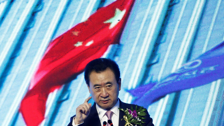 Wang Jianlin, accionista del Atlético de Madrid. (Reuters)