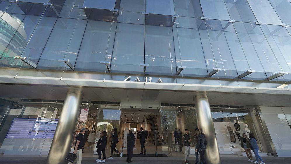 Foto: Fachada de Zara, emblema de la marca Inditex. (Fuente: Getty).