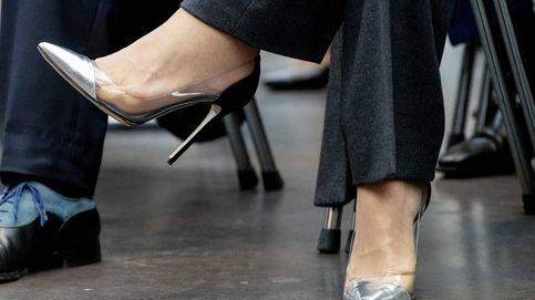 Los zapatos transparentes son tendencia: así los llevan Máxima, Meghan o la reina Letizia