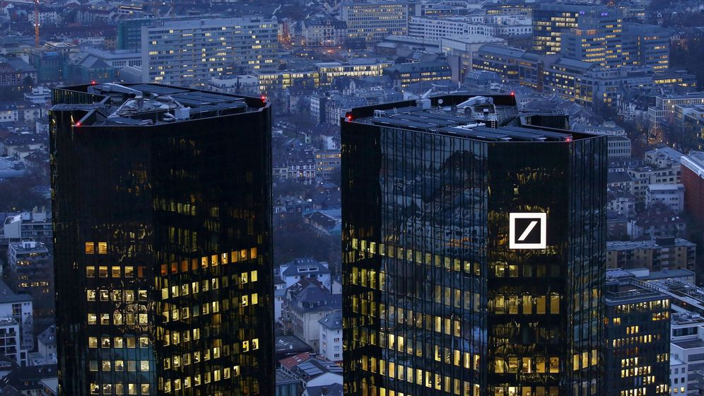 Foto: Oficinas centrales de Deutsche Bank en Francfort