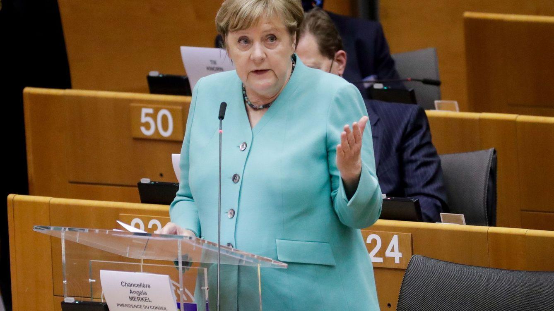 Merkel: Los enemigos de Europa se frotan las manos con esta crisis