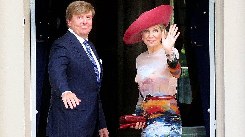 Foto: Los reyes de Holanda reciben al presidente de Grecia y a su esposa