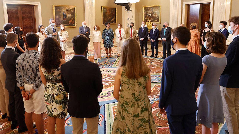 Imagen del grupo en el interior de Zarzuela. (Limited Pictures)
