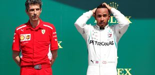 Post de Mercedes duda de las intenciones de Ferrari: ¿deliberado o incompetencia?