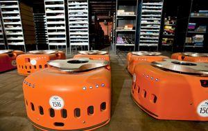 Amazon 'contrata' 15.000 robots para hacer frente a la Navidad