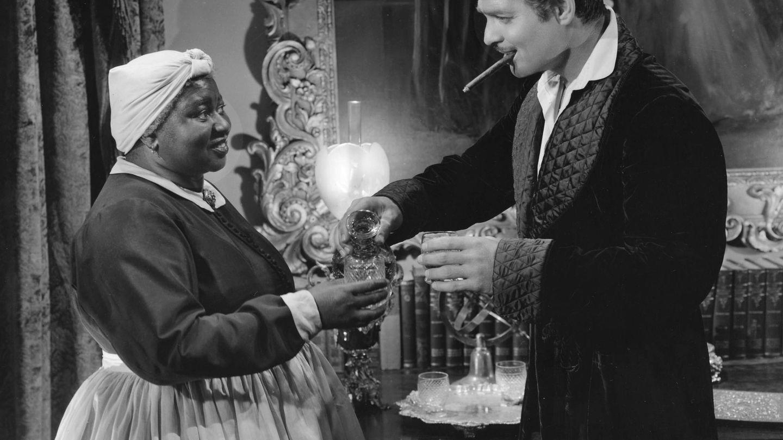 Junto a Clark Gable en 'Lo que el viento se llevó'. (Cordon Press)