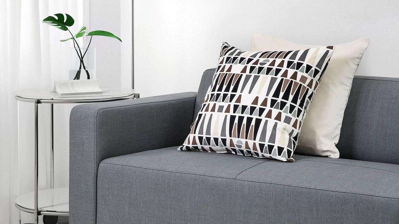 Sofás baratos de Ikea para salones pequeños. (Cortesía)