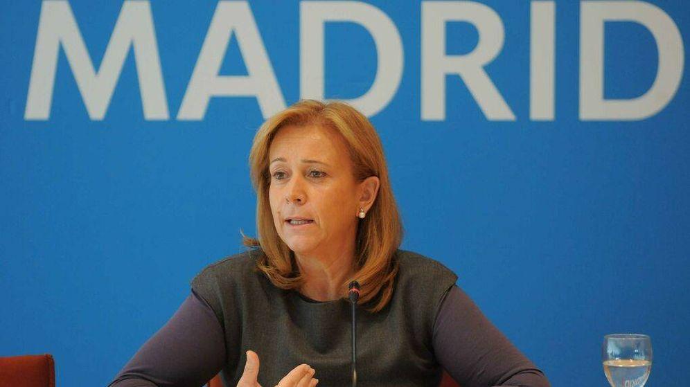 Foto: Pilar Martínez, en su etapa de edil de Urbanismo del Ayuntamiento de Madrid.