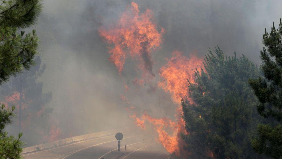 La situación en Portugal es difícil y los  aviones antiincendios no pueden actuar