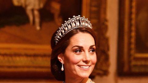 Sabemos cuál es su preferida, pero no es la unica tiara que ha lucido Kate Middleton