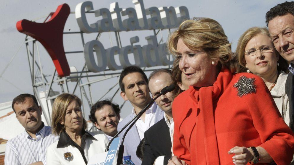 Para Aguirre hay dos opciones: la liberal del PP y los comunistas