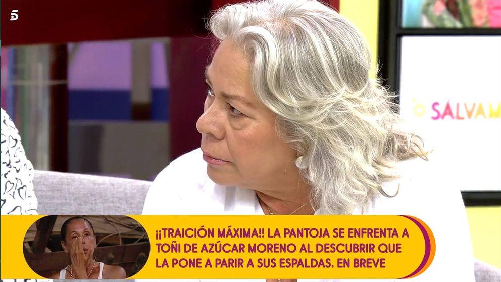 Carmen Gahona ataca a Belén Esteban por defender a Isabel Pantoja en 'SV'