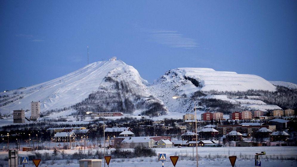 Foto: La localidad de Kiruna, al norte de Suecia. (Maja Suslin/EFE)