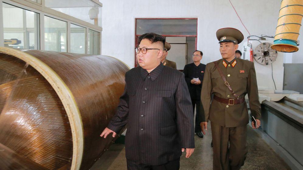 Foto: Kim Jong-un, líder de Corea del Norte, en una de las últimas fotos distribuidas por el régimen. (EFE)