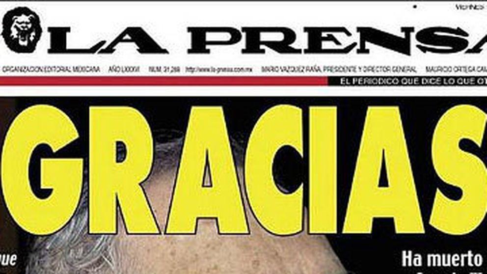 La prensa internacional homenajea a García Márquez