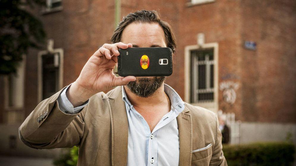 Foto: El líder y fundador de Vox Santiago Abascal. (Carmen Castellón)