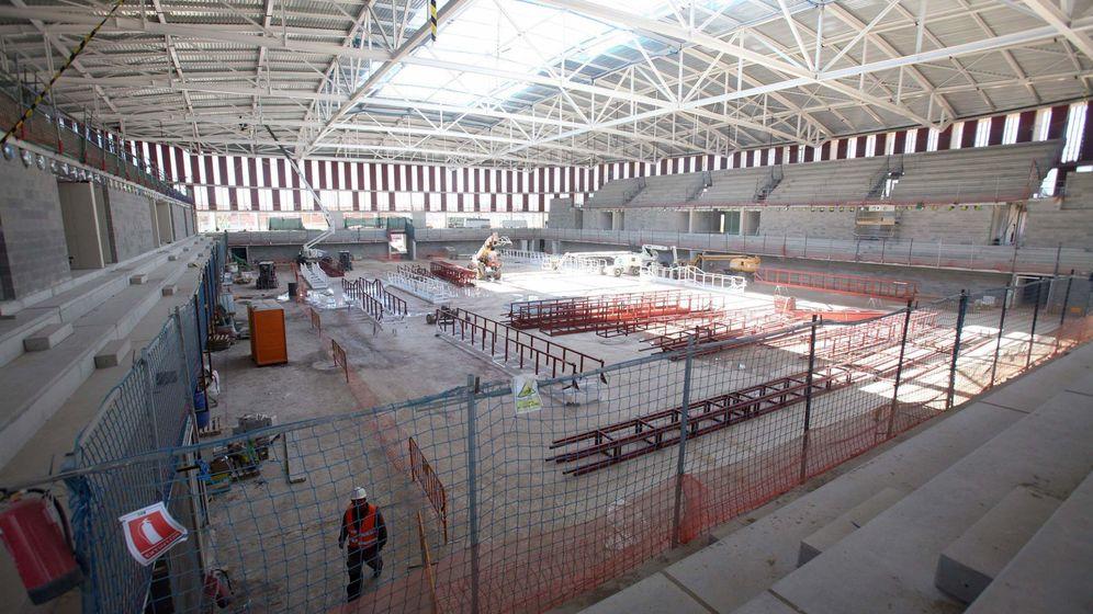 Foto: La construcción de una infraestructura de Tarragona.