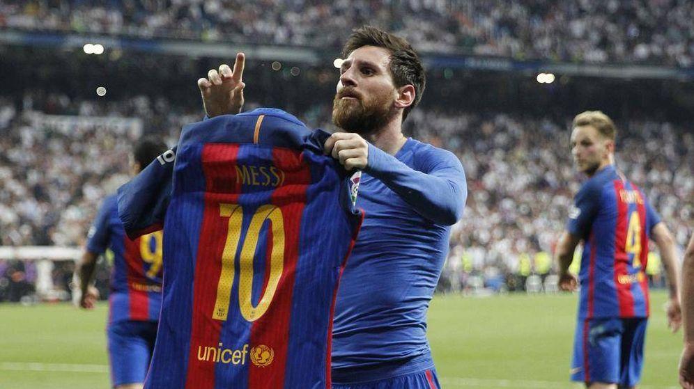 Foto: Messi suma ya diez campeonatos de Liga con la camiseta del Barça