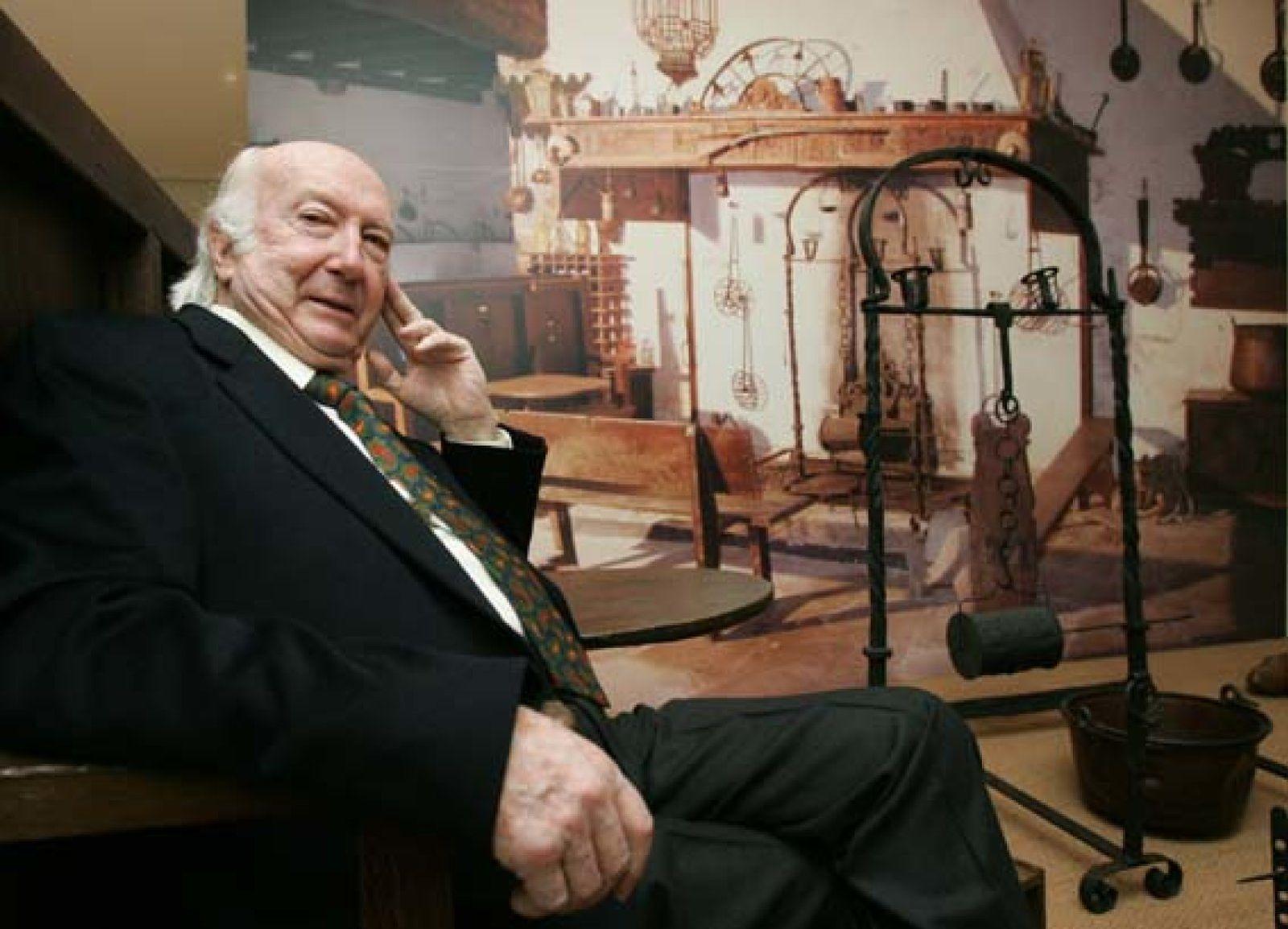 Foto: La 'oportuna' memoria de Julio Caro Baroja, en el Conde Duque