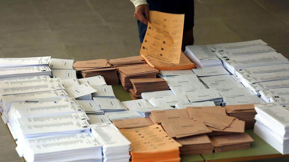 Foto: Votaciones en madrid