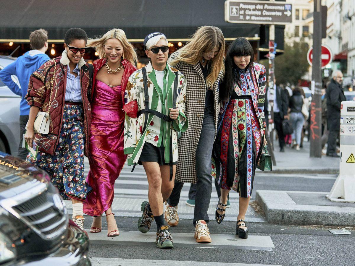 Foto: Así es el street style de París. (Imaxtree)