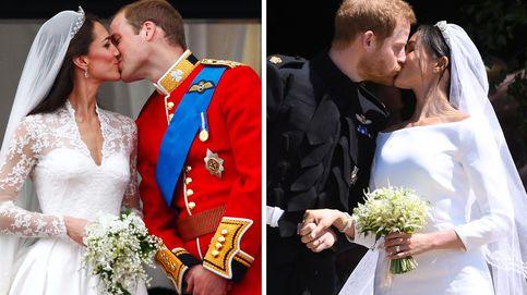 Kate Middleton o Meghan Markle... ¿con cuál de sus cuatro vestidos de novia te quedas?
