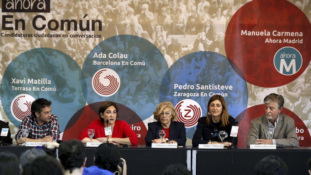 Carmena y Ribó recogen el guante de Colau para crear una red de ciudades-refugio