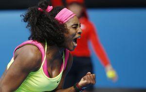 Serena y Sharapova logran la final y la estadounidense guarda el nº 1