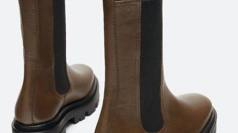 Estos botines chelsea conquistan el top ventas de Uterqüe con clase y originalidad