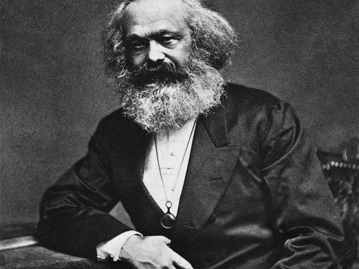 Foto: Karl Marx.