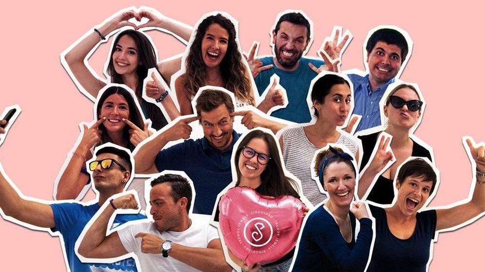 Foto: Parte del equipo de la 'startup' española Singularu, una de las que va a dar mucho que hablar en 2019.