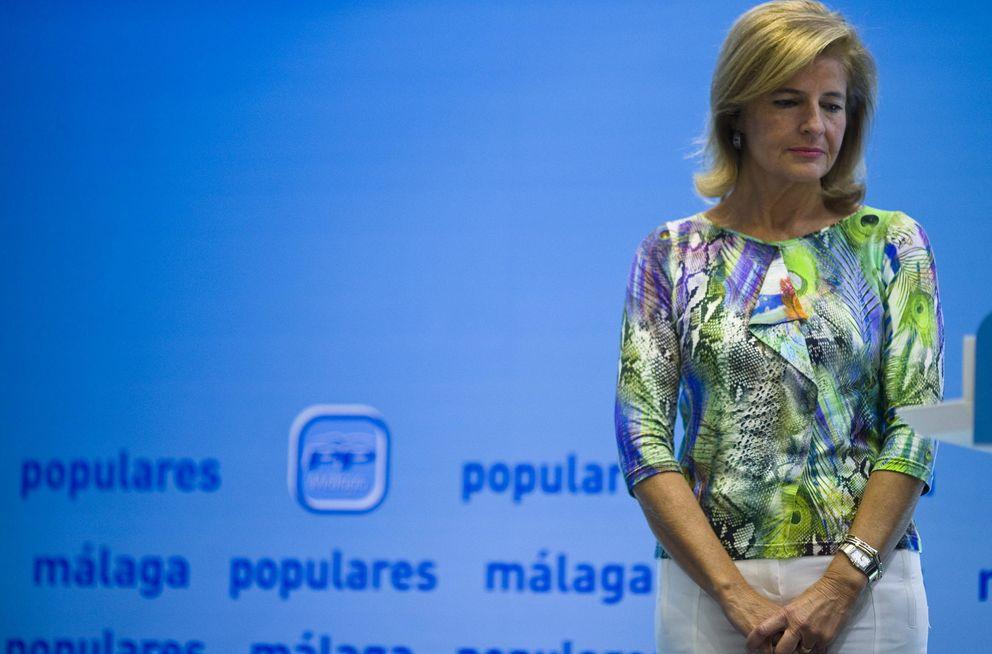 Foto: La vicepresidenta segunda del Parlamento andaluz, Esperanza Oña (EFE)
