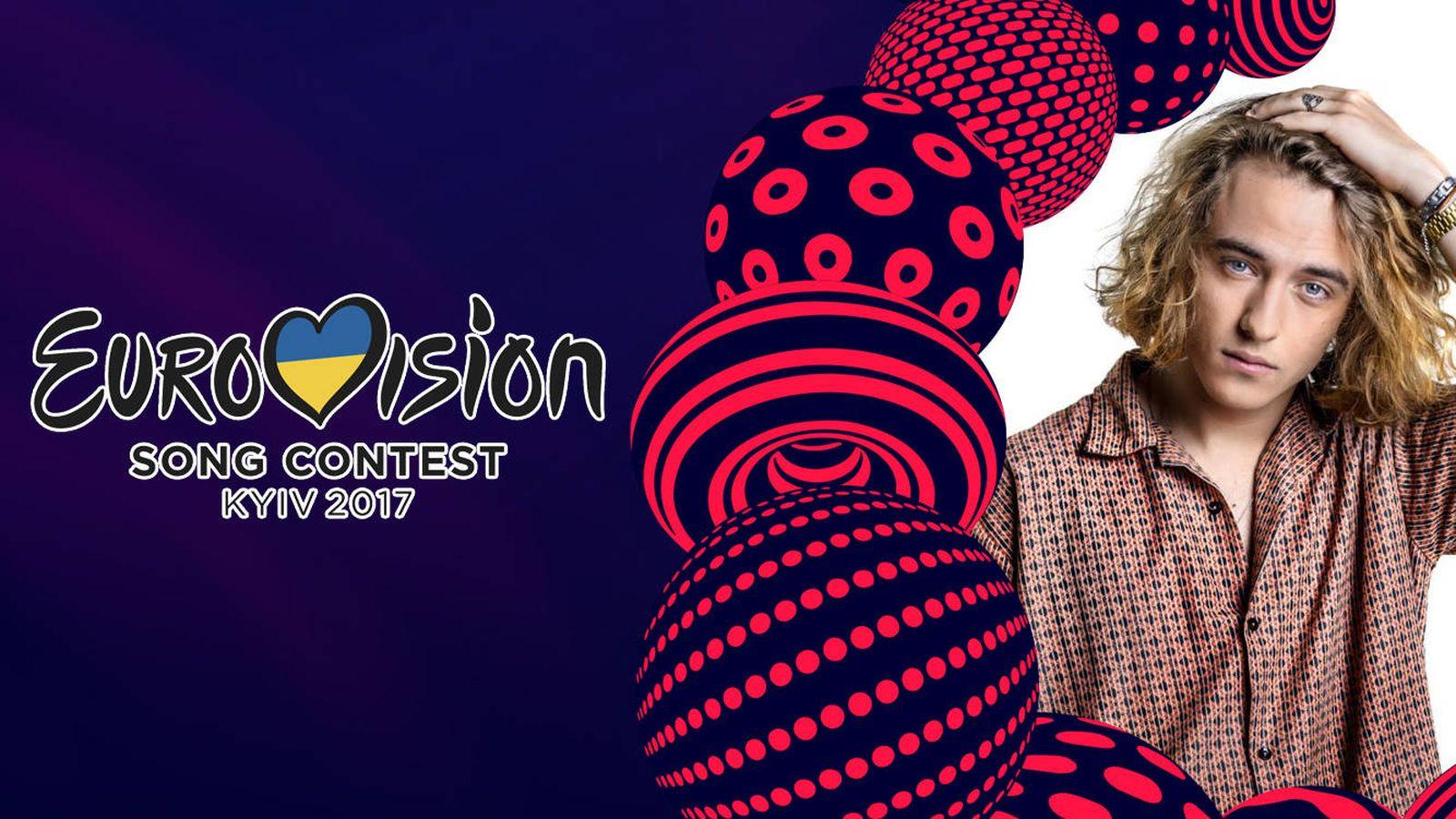 Foto: Manel Navarro representa a España en el Festival de Eurovisión 2017. (RTVE)