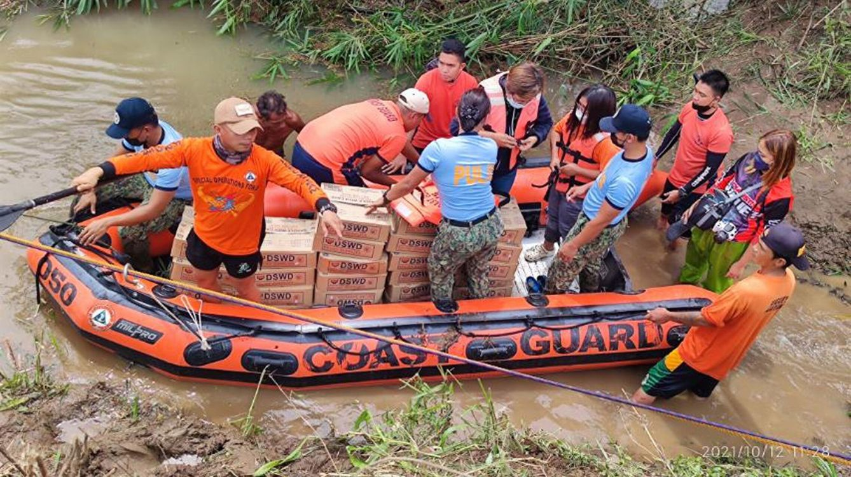 Inundaciones en Filipinas. (EFE)