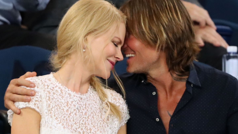 Keith Urban y Nicole Kidman. (Reuters)