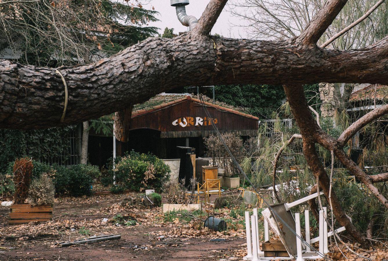 La maldición de los 13 pabellones abandonados. Algo pasa en la Casa de Campo