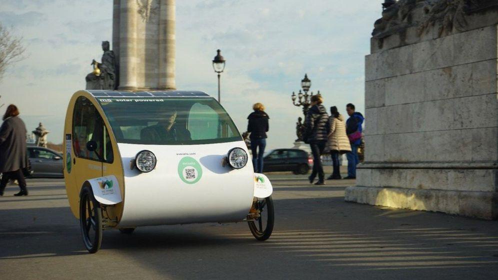 Foto:  El Mö se presentó en París durante la pasada Cumbre del Clima. (Evovelo)