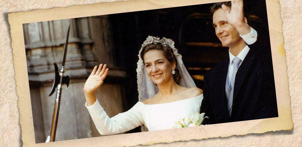 Foto: La infanta Cristina e Iñaki el día de su boda. (Vanitatis)