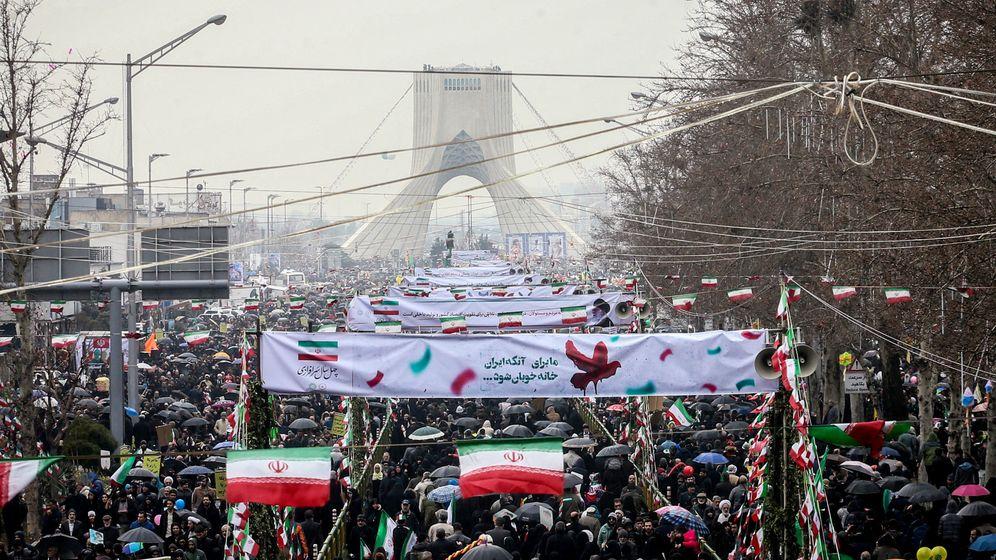 Foto: Irán celebra el 40.º aniversario de la revolución que acabó con el Sha (Reuters)