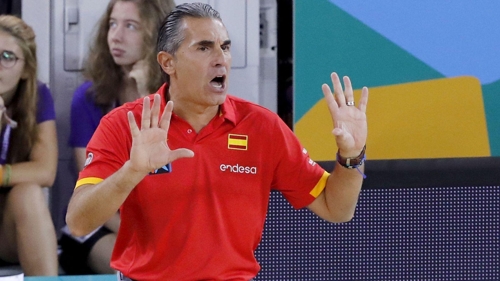"""Foto: """"Sergio es un entrenador que confía mucho en cierta estadística"""", dice Paco Vázquez. (EFE)"""